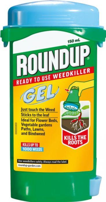 Roundup Weedkiller Gel 150Ml
