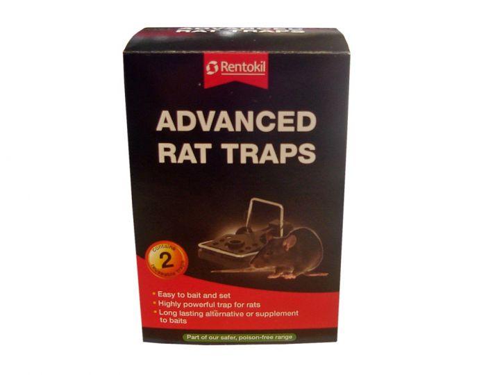 Rentokil Advanced Rat Trap Twin Pack