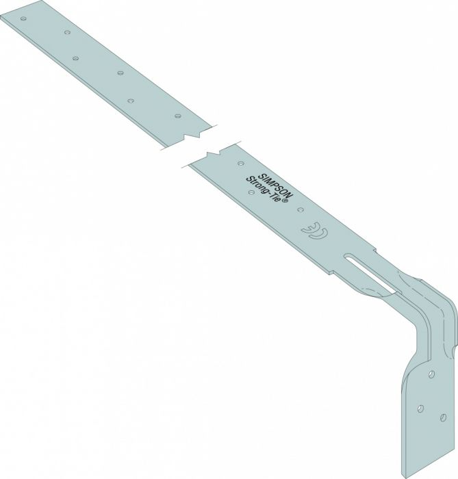 Simpson Strong Tie Heavy Engineered Strap Bent 600Mm