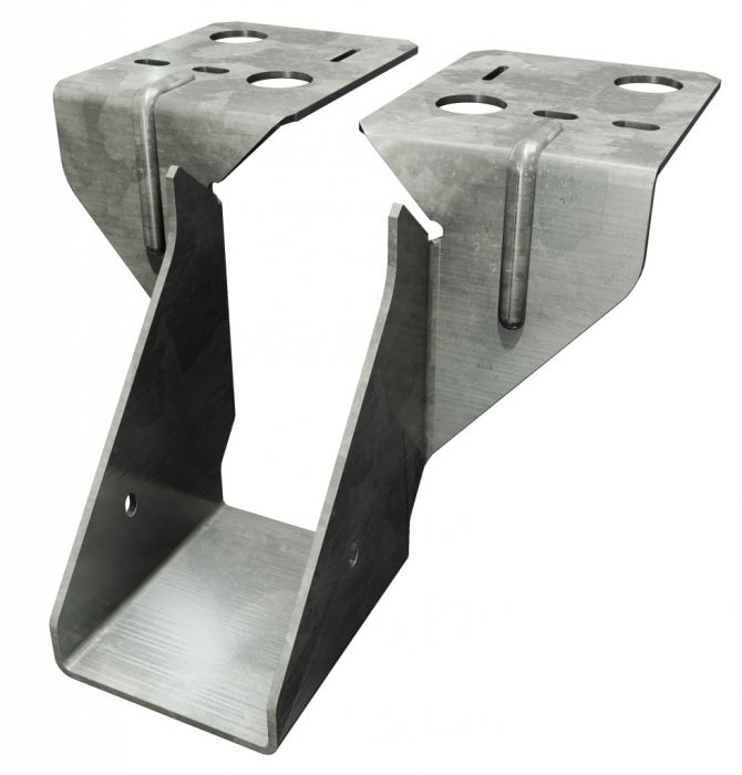 Simpson Strong Tie Joist Hanger Timber To Masonry 150Mm
