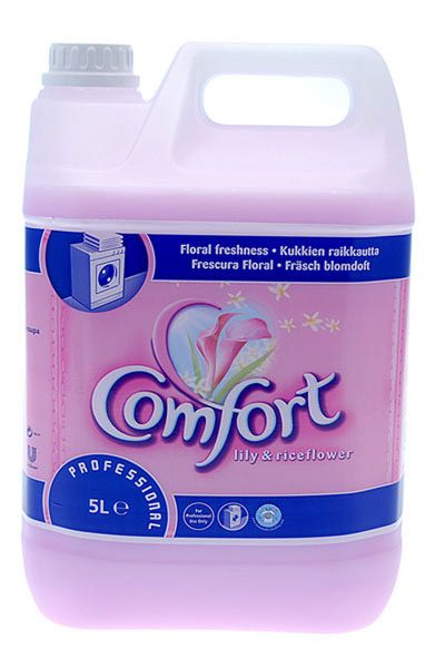 Comfort Fabric Softener 5L Lily & Rice Flower