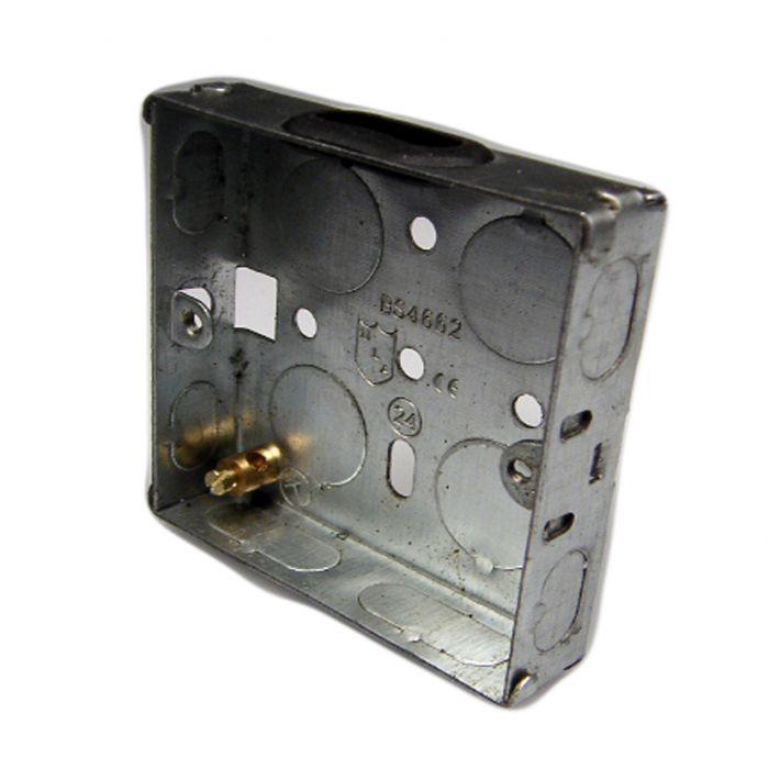 Dencon 1G 16Mm Metal Box Pack 10