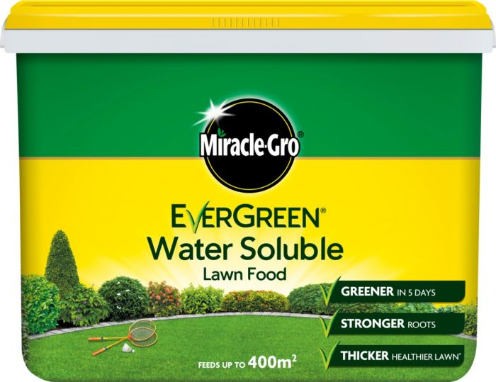 Miracle-Gro Water Soluble Lawn Food 2Kg Tub