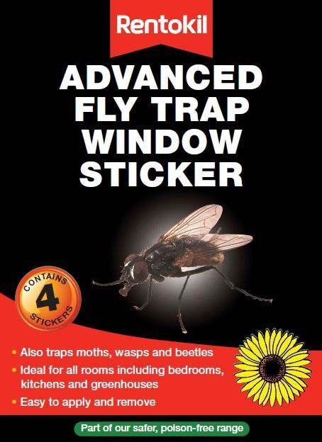 Rentokil Advanced Fly Trap 4 Pack