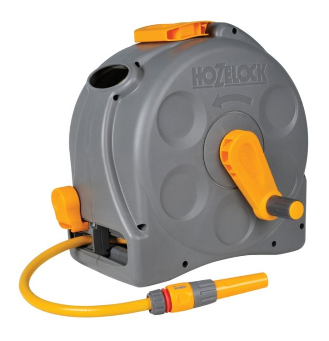 Hozelock 2 In 1 Compact Reel With 25M Hose