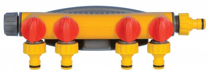 Hozelock 4-Way Tap Connector