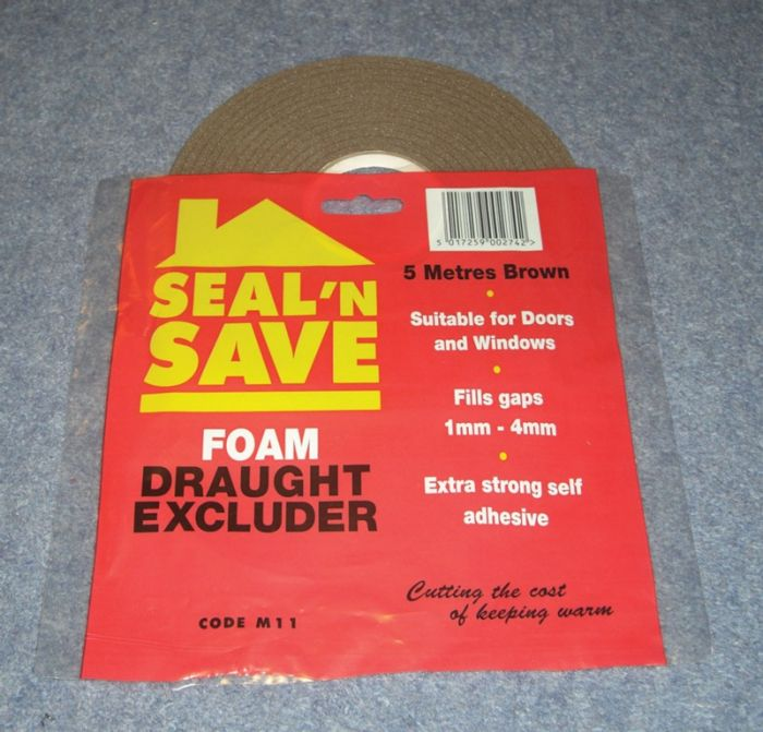 Stormguard Seal N Save Foam - 5M M11 Brown
