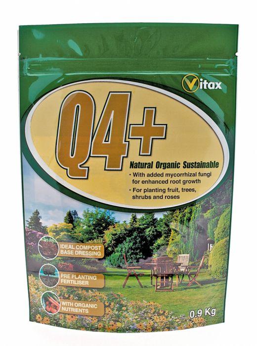 Vitax Q4+ Fertiliser 900G