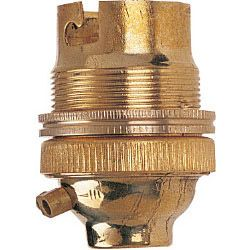 Dencon Bc Brass 12 Lampholder With Earth Skin Packed