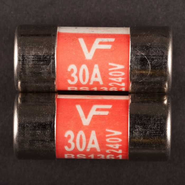 Dencon 30 Amp Consumer Fuse Bs1361 Bubble Packed (2)
