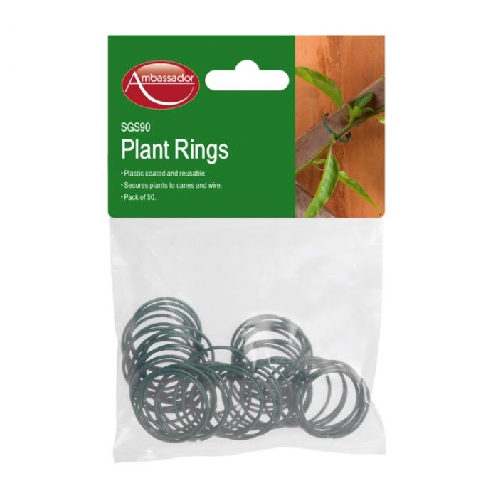 Ambassador Coated Plant Rings