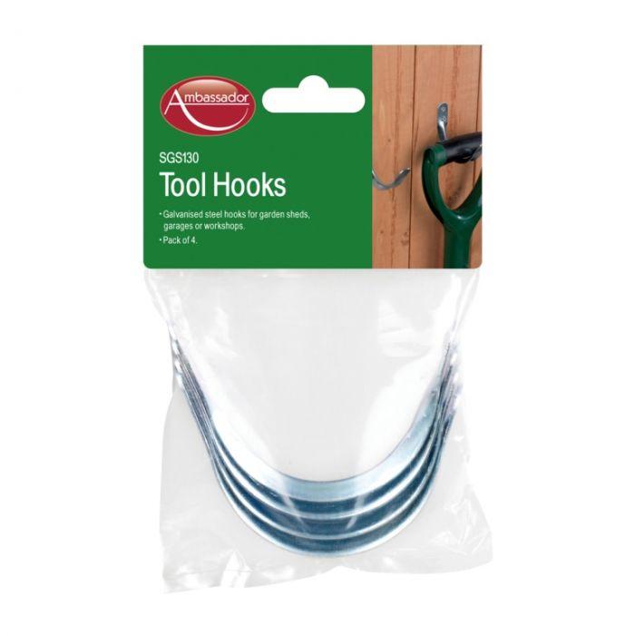 Ambassador Tool Hooks Large Pack 4