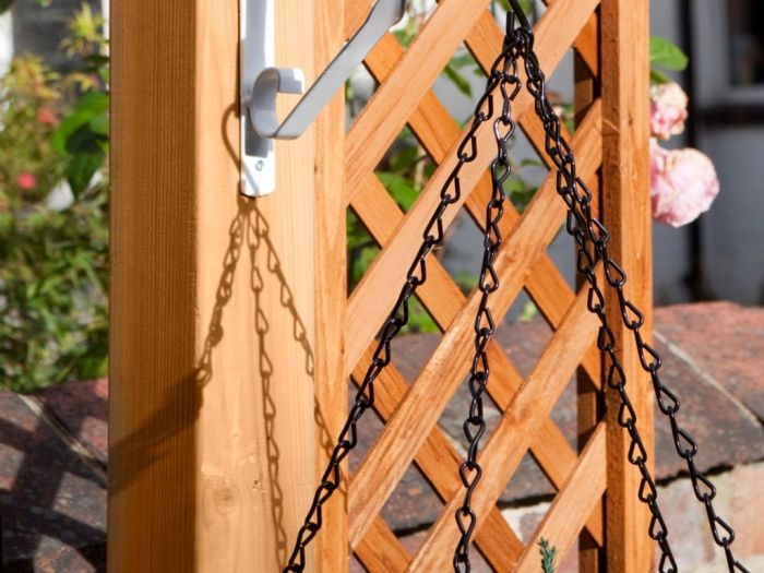 Ambassador Hanging Basket Chain 18 Black