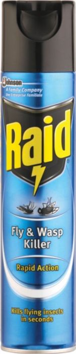 Raid Fly & Wasp Killer 300Ml Rapid Action