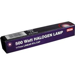 Dencon 110V 117Mm Halogen Tube 500W Boxed