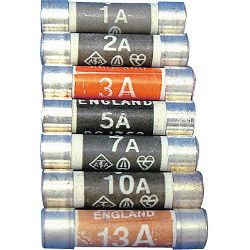 Dencon 13 Amp Fuse To Bs1362 Display Carded