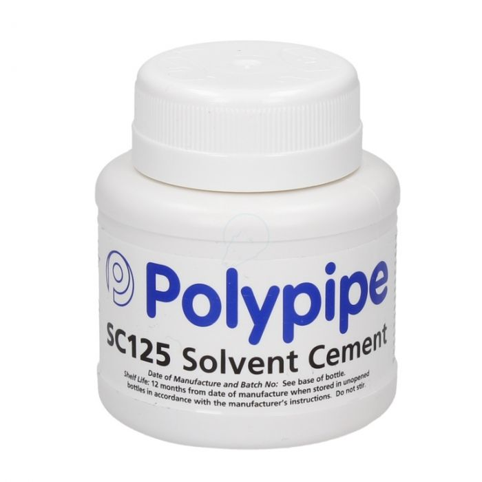 Polypipe Solvent Cement (Bs6209) 125Ml