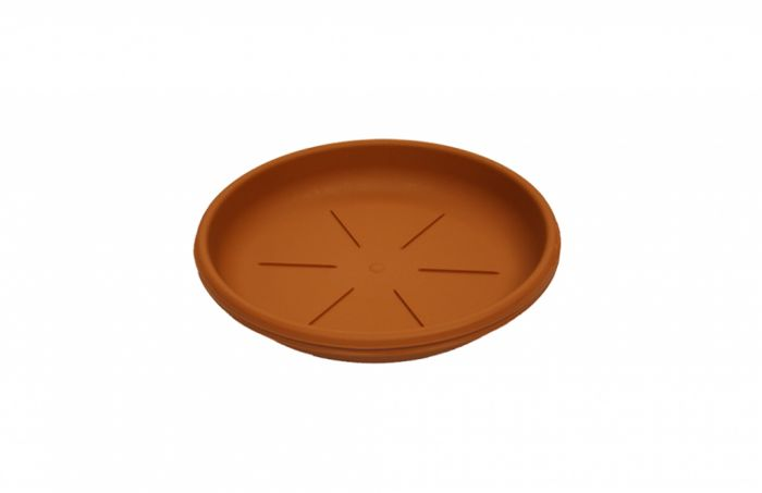 Thumbs Up Plant Pot Saucer 22-24Cm Terracotta Colour Saucer