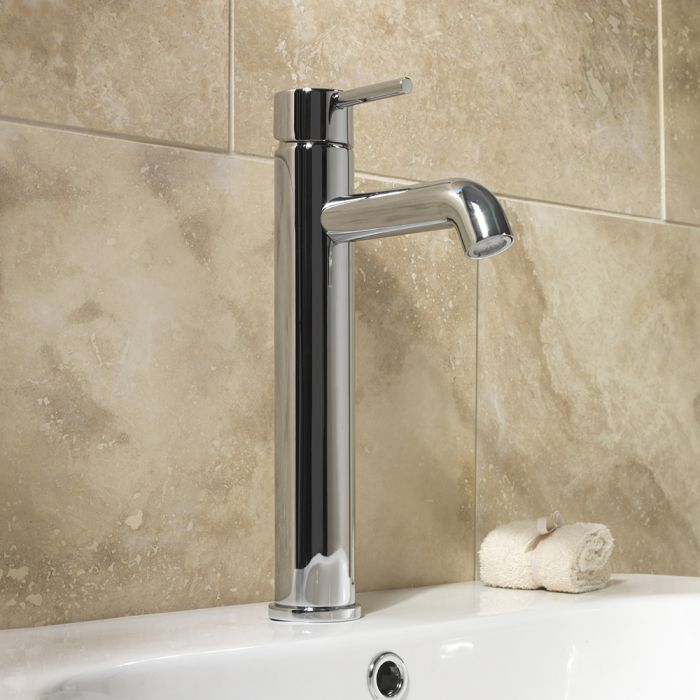 Sp Spiral Extended Basin Mixer Tap W: 56Mm H: 320Mm D: 176Mm
