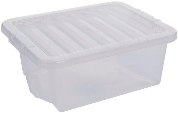 Wham Crystal Box With Clear Lid 43Cm X 33Cm X 17Cm