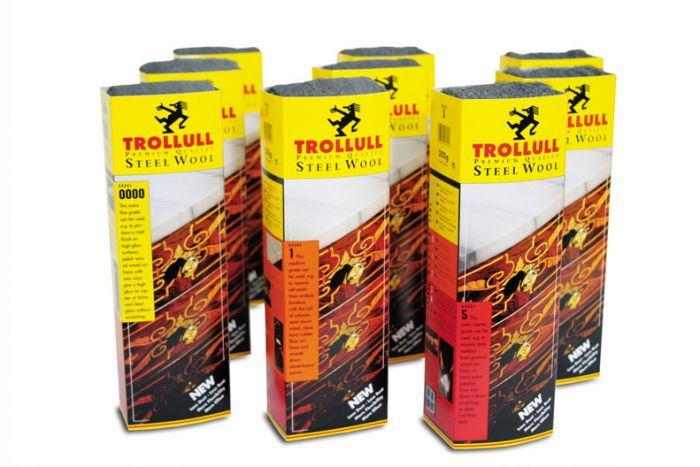 Trollull Steel Wool Grade 0000 200G Sleeves