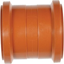 Polypipe Polypropylene Double Socket 4/110Mm