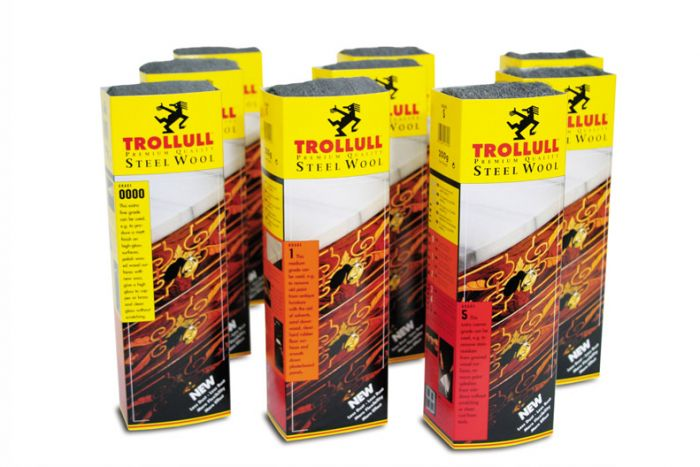 Trollull Steel Wool Grade 1 200G Sleeves