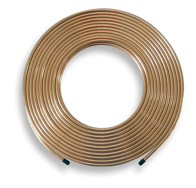 Copper Pipe Coil 10M X 8Mm