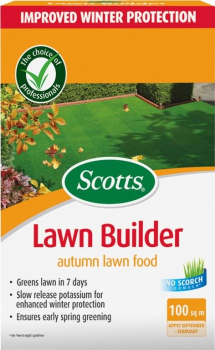 Scotts Lawn Builder Autumn Lawn Food 100M2