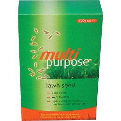 Johnsons Lawn Seed Multi Purpose 500G Carton
