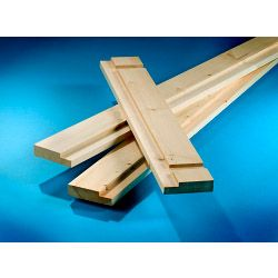 Cheshire Mouldings Redwood Interior Door Casing Set 6'6 X 2'6 X 4