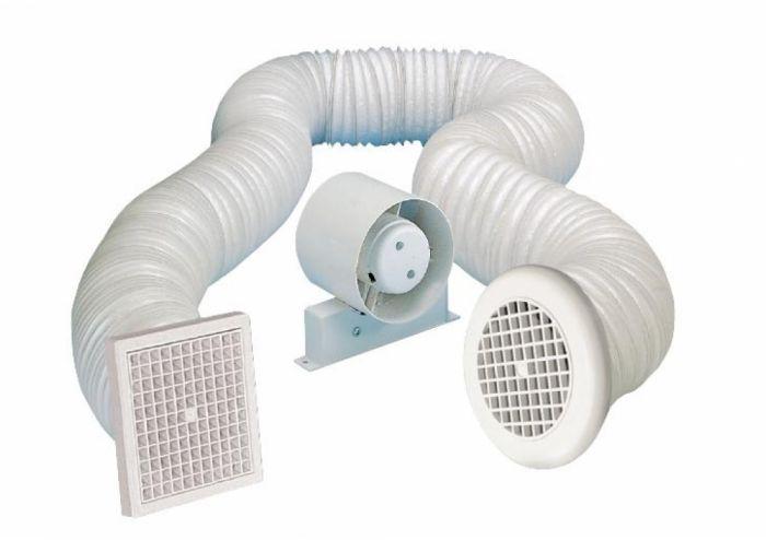 Manrose Shower Fan + Timer 4