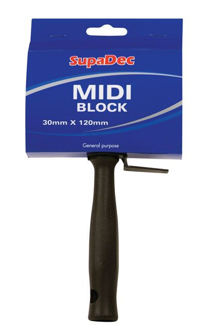 Supadec Midi Block Brush 30Mm X 120Mm