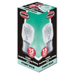 Eveready Pygmy 15W Sbc Clear Pack 10