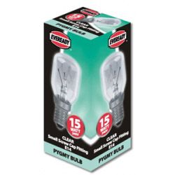 Eveready Pygmy 15W Ses Clear Pack 10