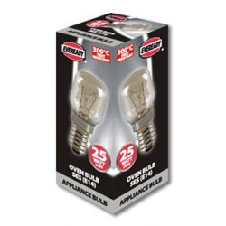 Eveready Oven Lamp 25W Ses Pack 10