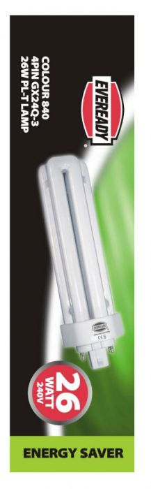 Eveready Pl-T Lamp 26W 4Pin