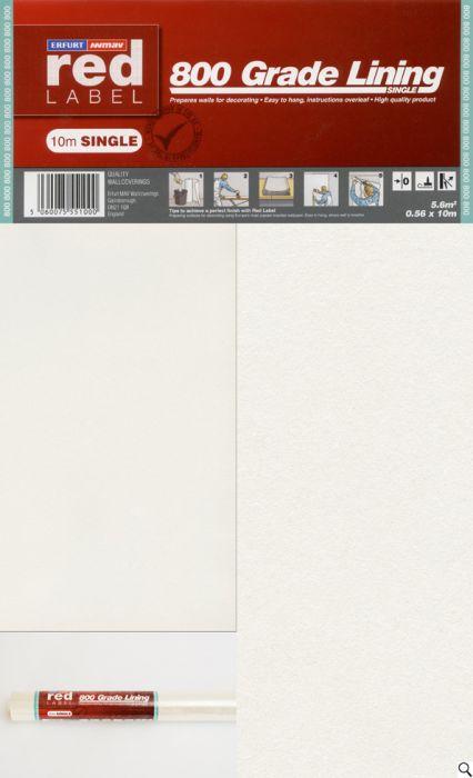Erfurt Lining Paper 800 Grade