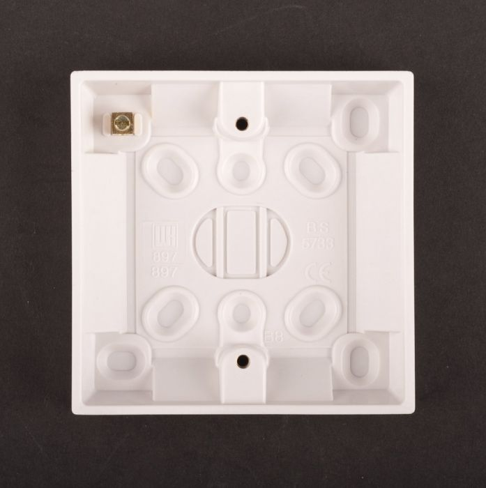 Dencon 16Mm Plastic Box For Switches Pack 5