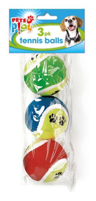 Pets At Play Tennis Balls 3 Pack