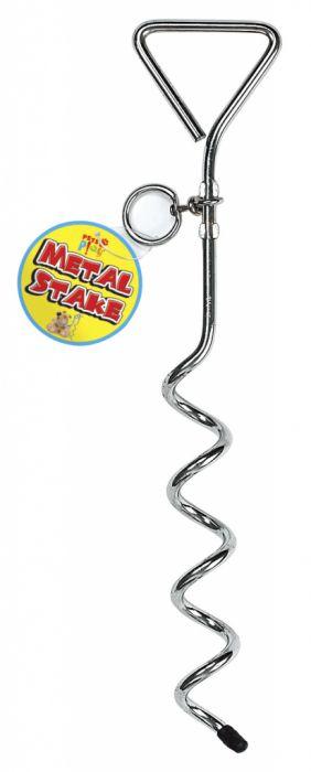 Pets At Play Metal Stake - Zinc Iron