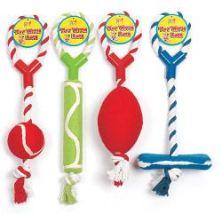 Pets At Play Rope Toys Assorted Designs Available