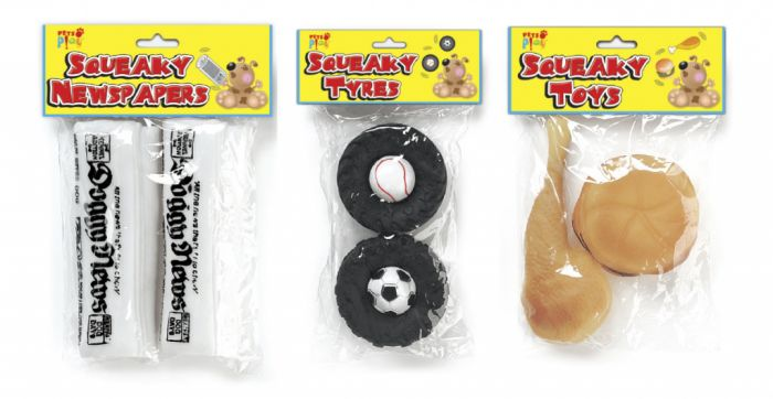 Pets At Play Squeaky Toy 2 Pack