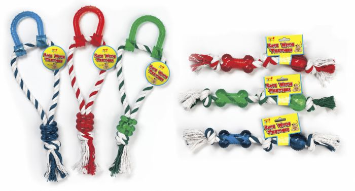 Pets At Play Rope With Teather