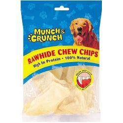 Munch & Crunch Rawhide Chew Chips 100G Approx