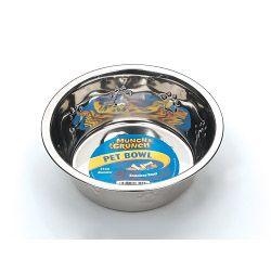 Munch & Crunch Metal Pet Bowl 21Cm