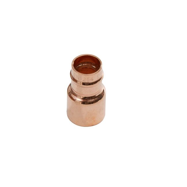 Supaplumb Solder Ring Fitting Reducer Pack 10 22Mm X 15Mm