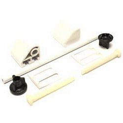 Oracstar Toilet Seat Fitting Kit & Rod White