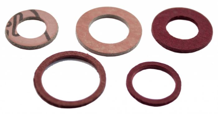 Oracstar Assorted Fibre Washers Pack 6