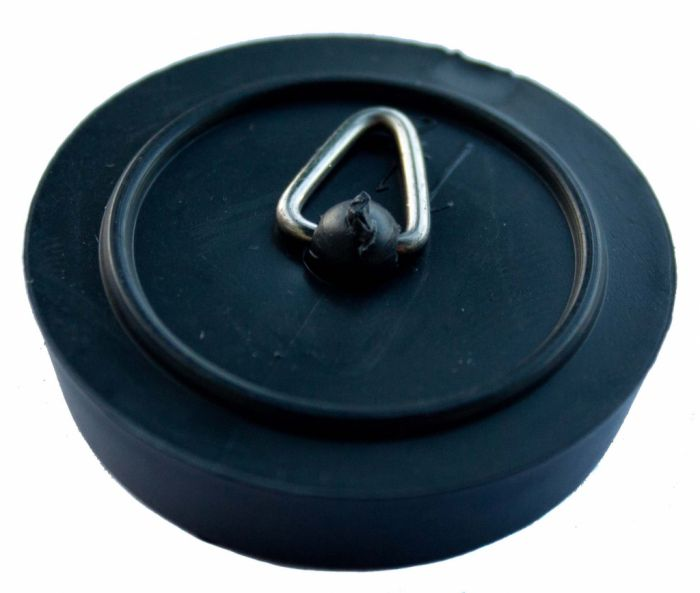 Oracstar Plug Sink/Bath Polythene - Black 1 3/4